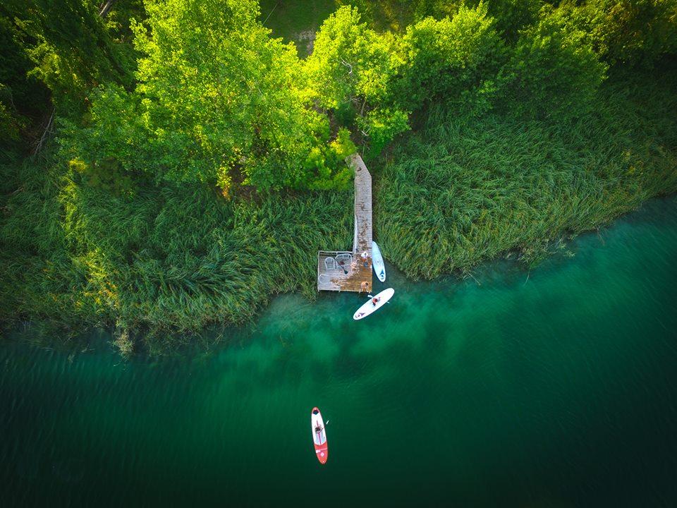 Ammira le lagune nascoste dei Laghi Baćina, in Dalmazia