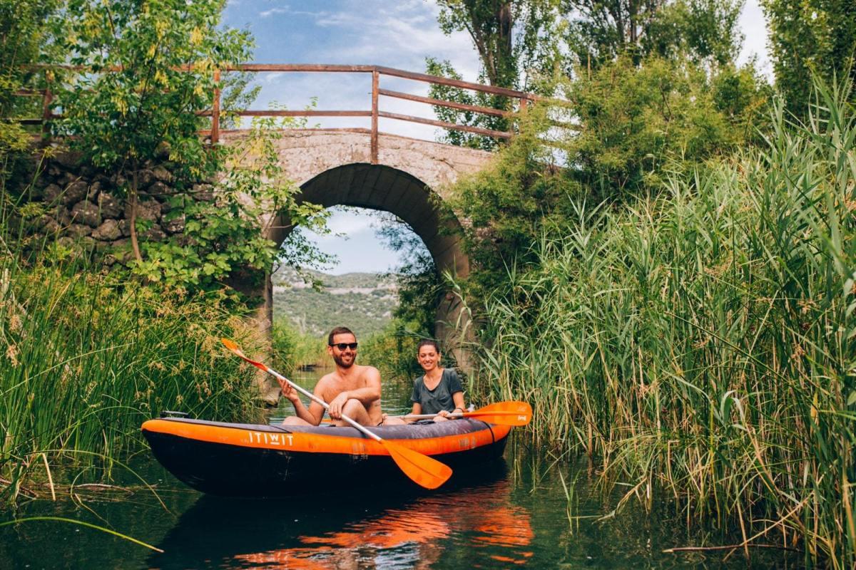 il fiume Narenta, da esplorare in kayak
