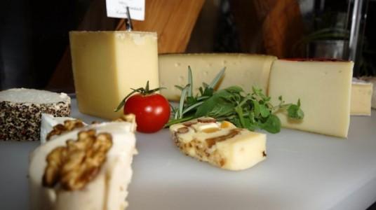 del formaggio con noci, prodotto biologico della struttura ricettiva