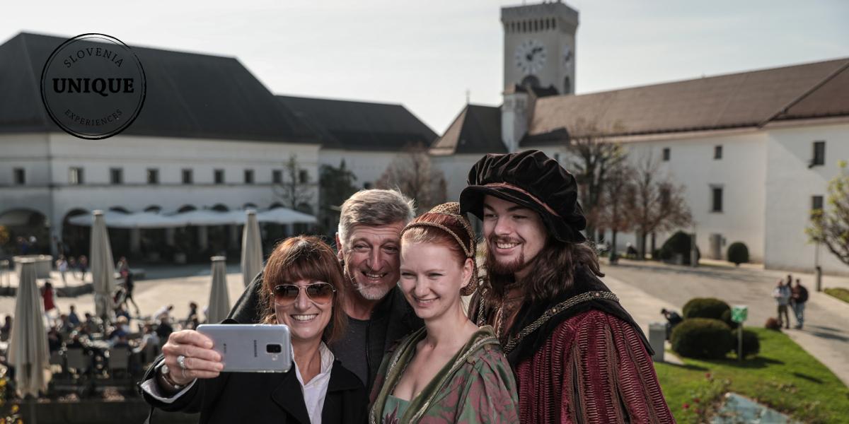 esperienza nel Castello di Lubiana