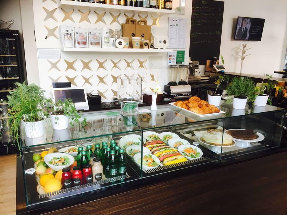Taman Organic, ristorante biologico a Lubiana