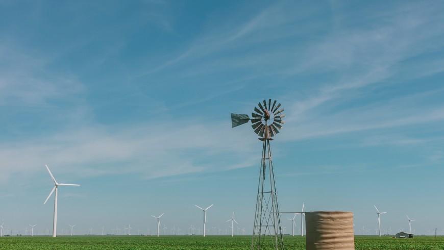 energie rinnovabili: turbine eoliche in texas