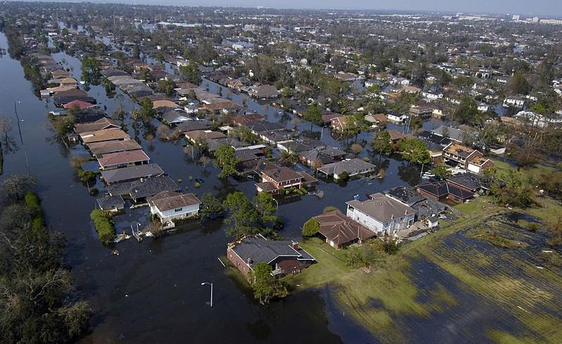 New Orleans inondata dall'uragano, è una delle città a rischio estinzione a causa dei cambiamenti climatici