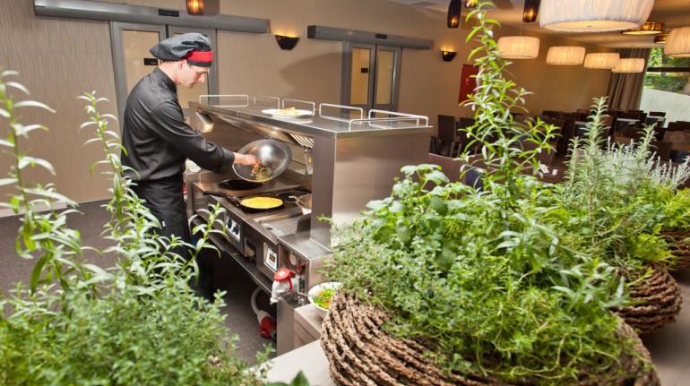 Cuoco nell'hotel Astoria Bled