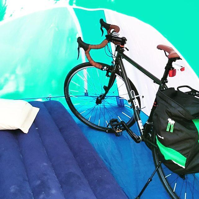viaggio in bicicletta e tenda