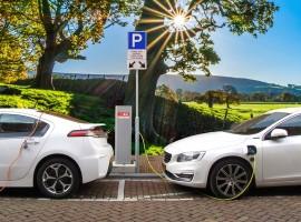 Punto di ricarica per le auto elettriche in hotel
