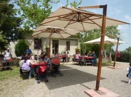 ristorante della fattoria Pietra Serena