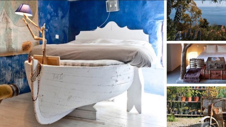 Ecobnb che riutilizza e recupera antichi oggetti realizzando design chic e unici