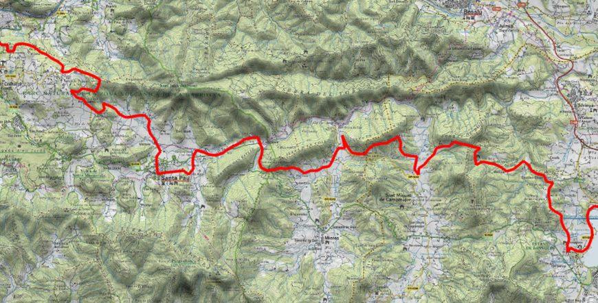 Itinerario Girona