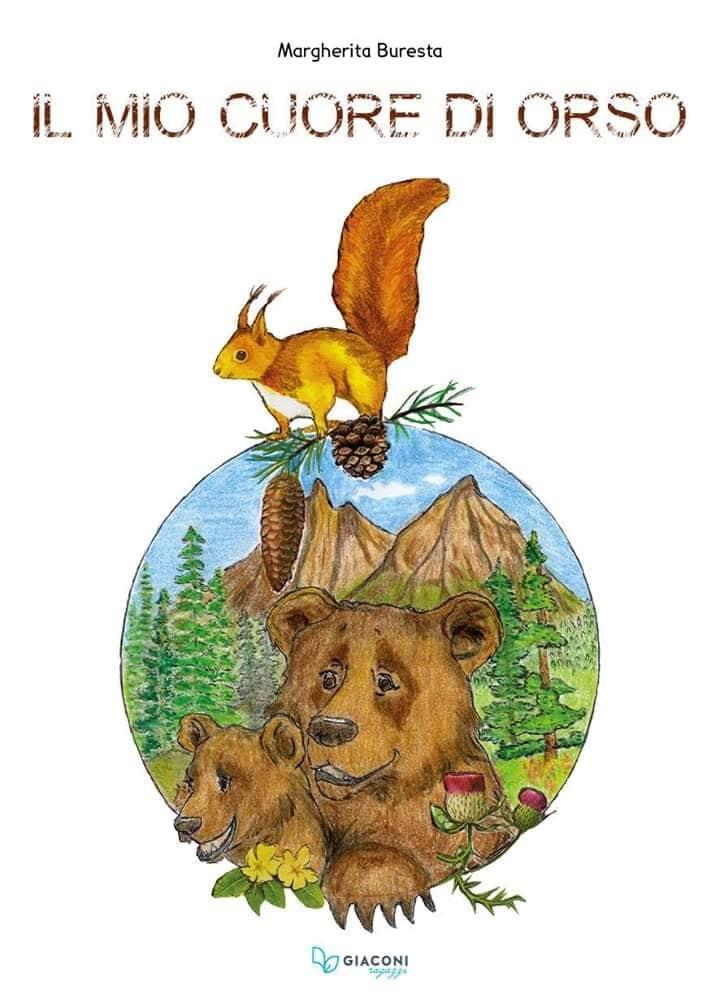 Copertina del libro di Margherita Buresta - Il mio cuore di orso