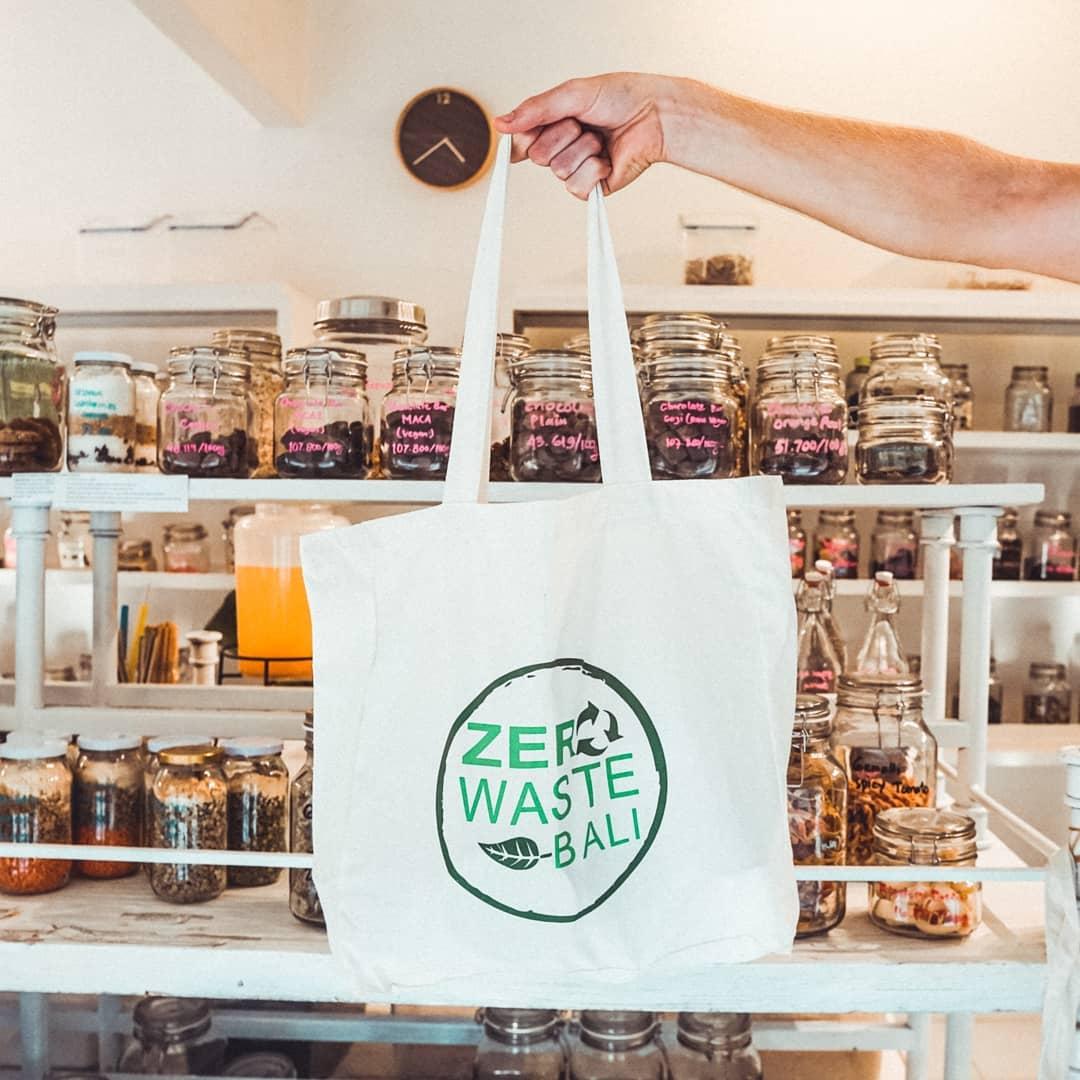 BBorsa in tela zero waste bali