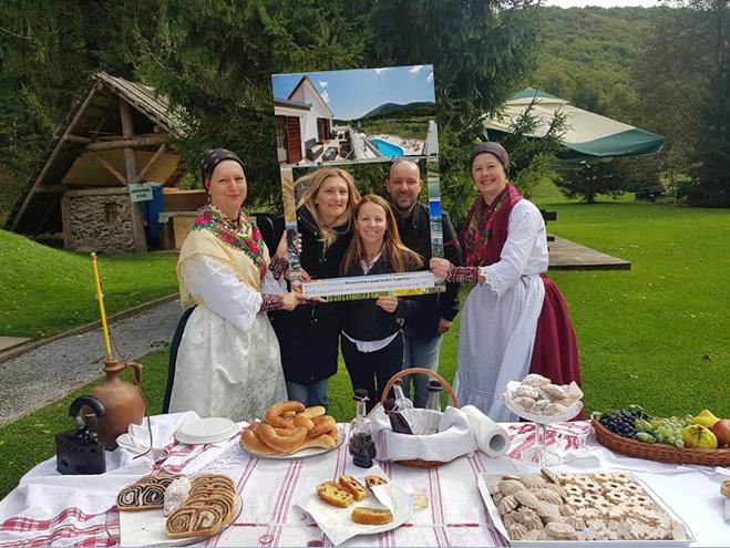 eco-viaggiatori ospiti a Villa Vinea