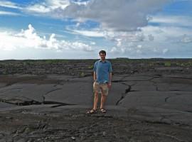 Camminando su Lava Fields - Savai'i island, Samoa