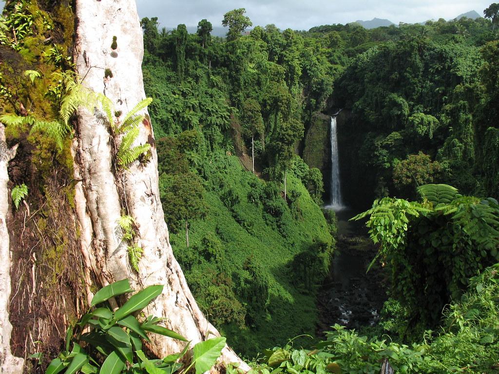 Sopo'aga Waterfall