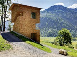 Chalet del Tannerhof Hotel, struttura sostenibile della Baviera