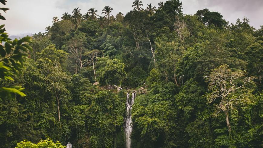 Sekumpul Waterfall, Bali, Indonesia.