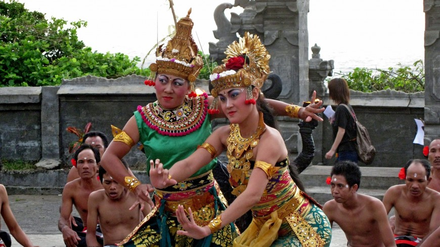 Traditional Balinese dance.
