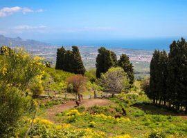 Fuga d'amore sulle pendici dell'Etna