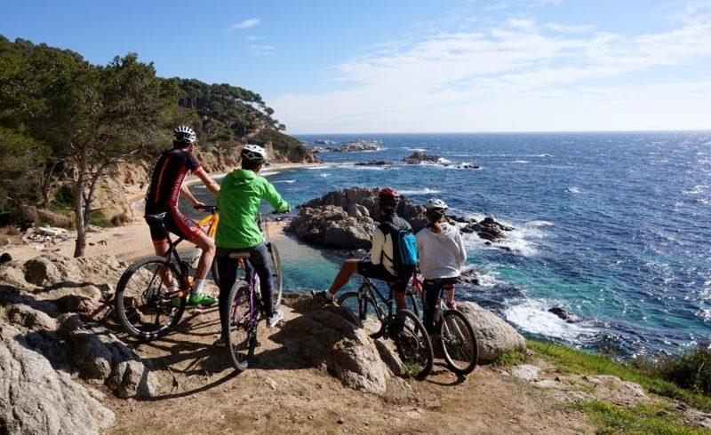 Itinerario bici A Girona
