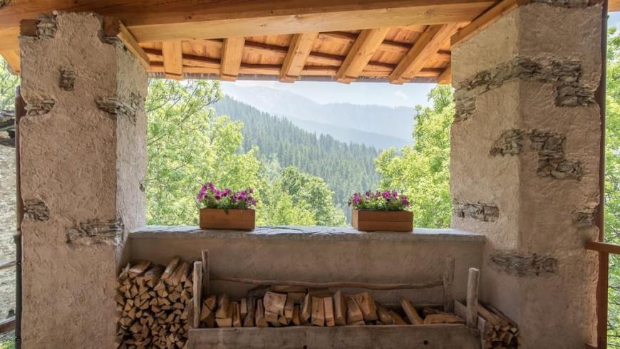 Sagna rotonda, ospitalità ecologica in valle maira