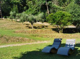 giardino del casale a Pietrasanta