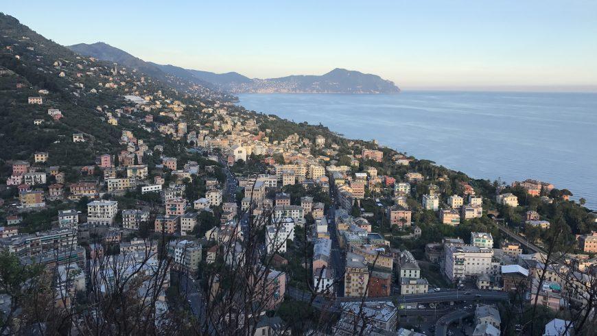 Oltre le 5 terre, panorama dal Monte Moro
