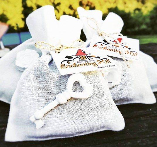 sacchetti profumati con lavanda