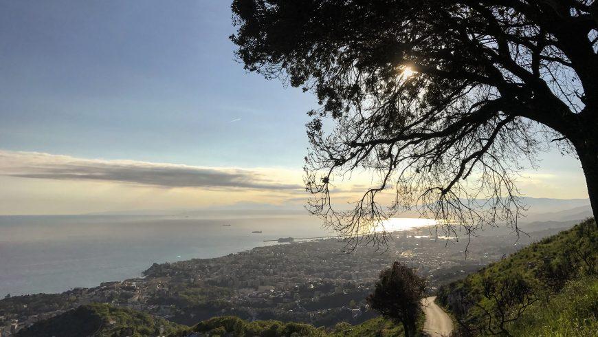 Vista panoramica su Genova