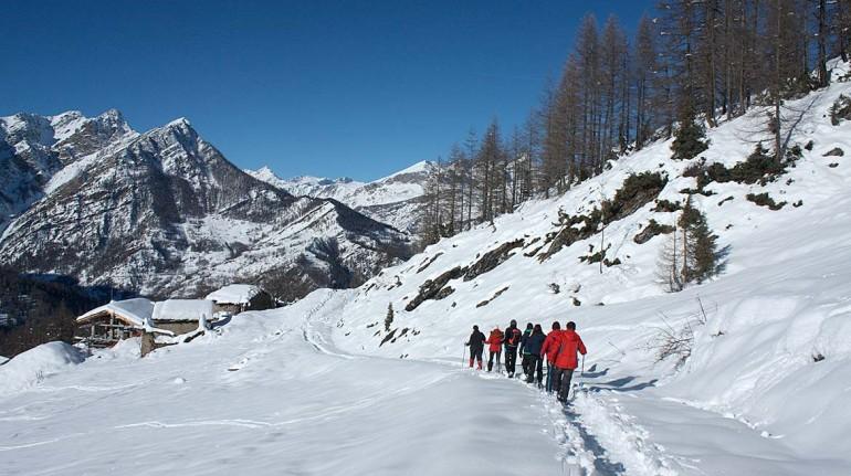 Itenerari nello chalet in Piemonte