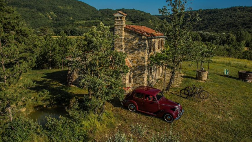 Un ecobnb off-grid tra le bellezze dell'Istria