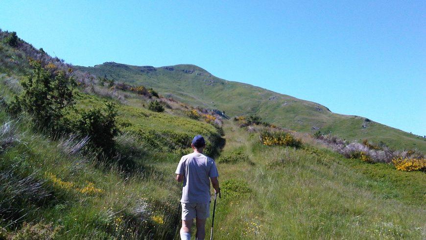 Alta Via dei Parchi sul Monte La Nuda