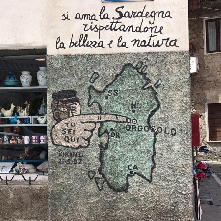 Murales di Orgosolo, Entroterra Sardo