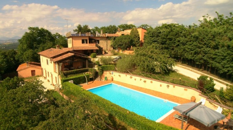 Agriturismo San Lorenzo, struttura eco-friendly in Umbria