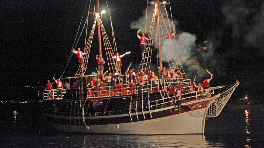 Battaglia pirata Omiš