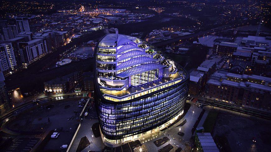 One Angel Square, ufficio eco-friendly nel Regno Unito