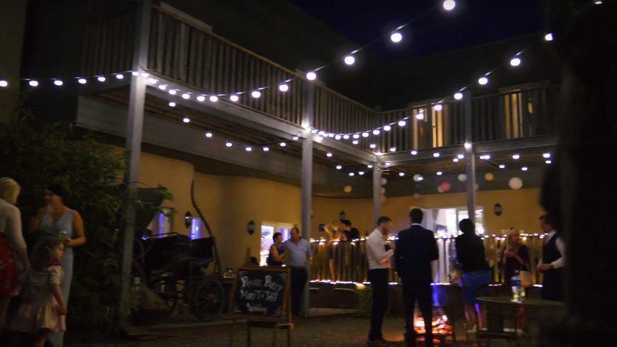Festa di matrimonio a Three Tower Eco House