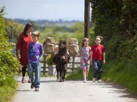 Bambini con i pony