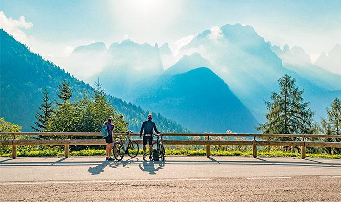 Dolomiti-Garda Alpine Cycling Route