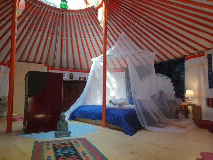 vacanze in yurta vicino a Torino