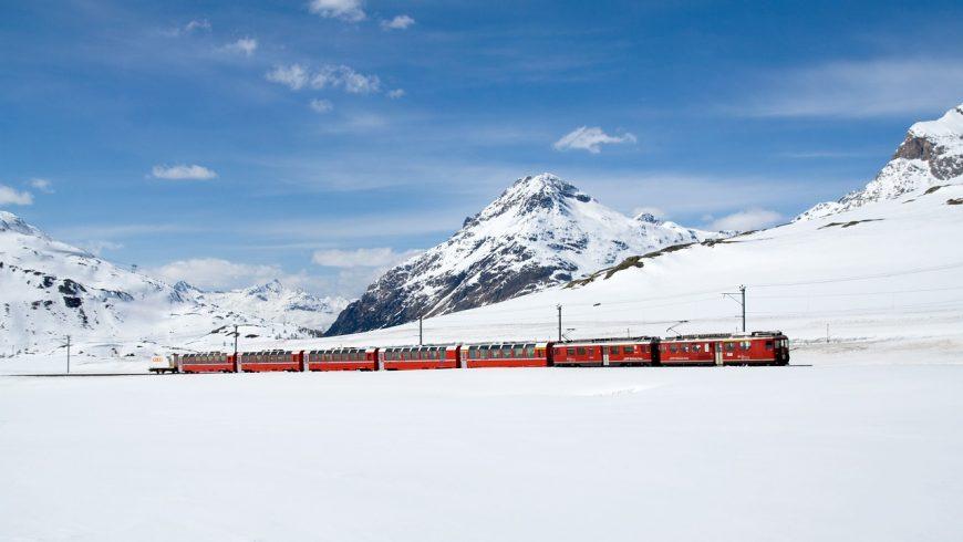 Trenino Rosso del Bernina, viaggi in treno low budget