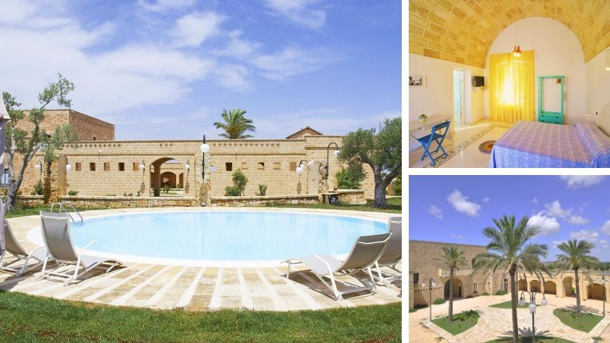 Masseria Galatea, Hotel Green in Puglia