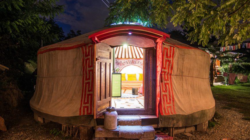 yurta mongola a Torino