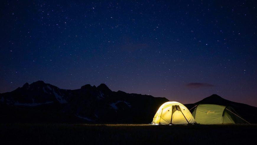 campeggiare in scozia