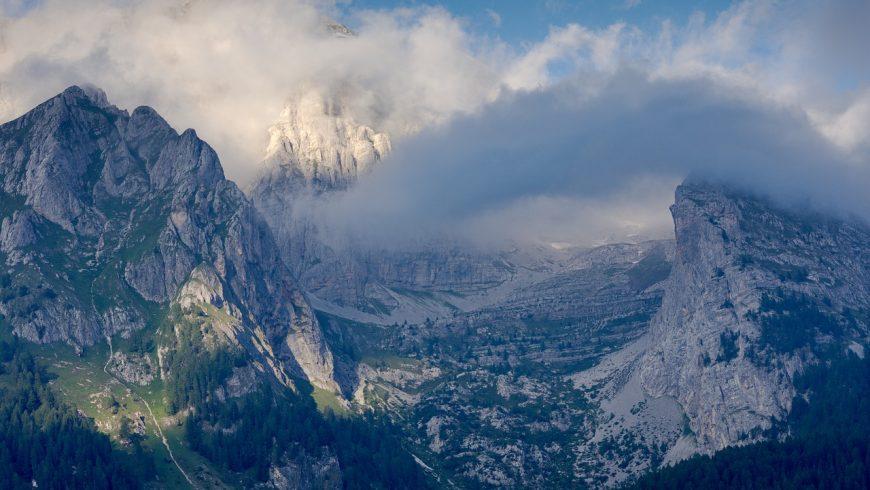 Le Dolomiti di Brenta in bici
