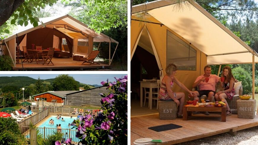 tende per eco-camping in francia