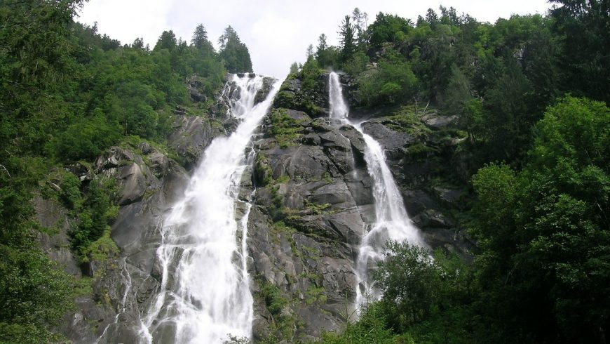 Le Cascate Nardis, Parco Adamello Brenta Geopark