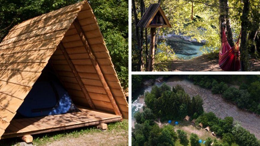 foto capanne in legno eco