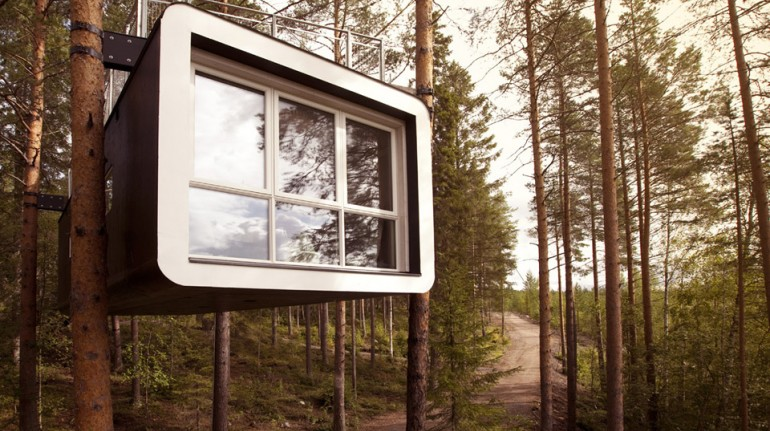 Eco-friendly Treehouse e hotel in Svezia