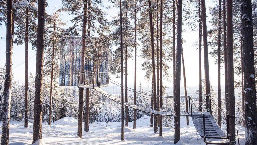 treehouse svezia neve