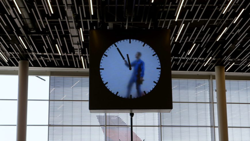Ladri di Tempo, orologio